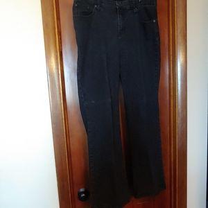 Black jeans womens plus size 14